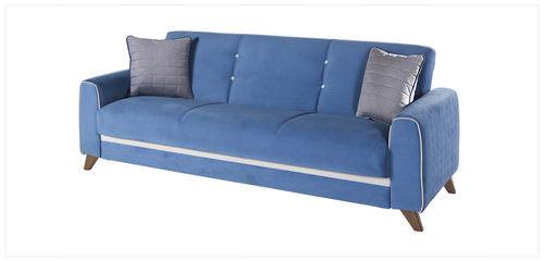 Fabio Lilyum Blue Convertible Sofa Bed
