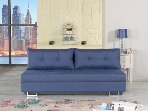 Flex Motion Blue Queen Sofa Bed W/ Storage By Casamode Part 68