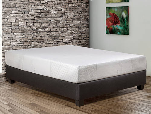 Fresco 10 Inch Gel Memory Foam Mattress By Primo