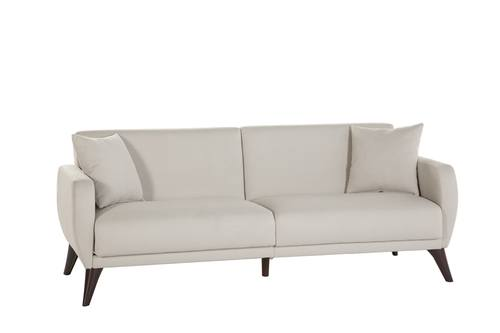 Flexy Zigana Beige Sofa Bed In A Box By, Beige Sofa Bed Couch