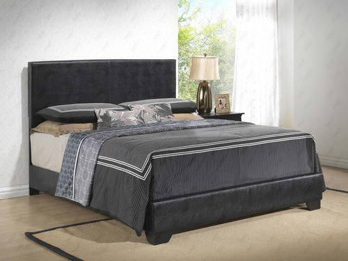 Upholstered Bed Black By Glory Furniture
