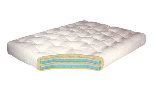 mattress 10 inch. double foam 10 inch futon mattress by gold bond