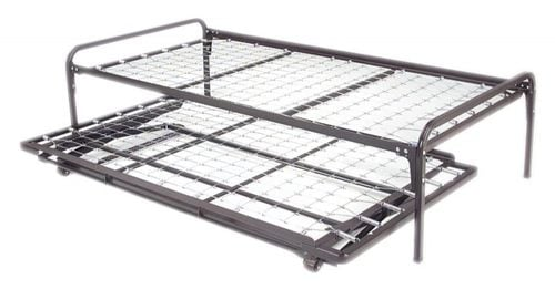 hiriser complete bed twin wpopup trundle by coaster
