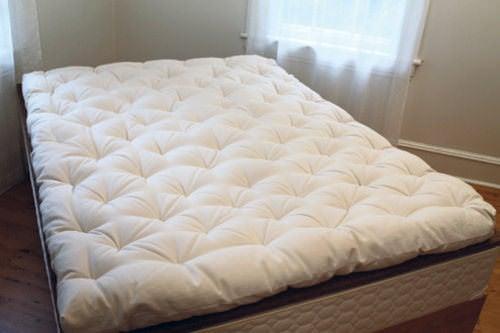 Past 4 5 Inch Organic Wool Mattress By Savvy Rest