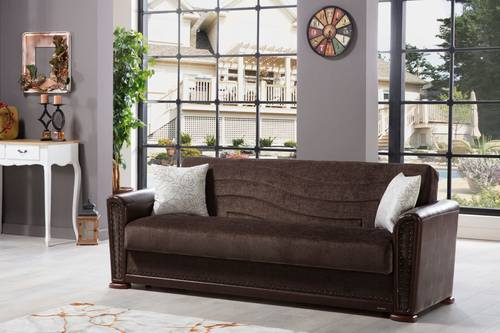 Alfa Jennifer Brown Convertible Sofa, Jennifer Convertibles Sofa Bed