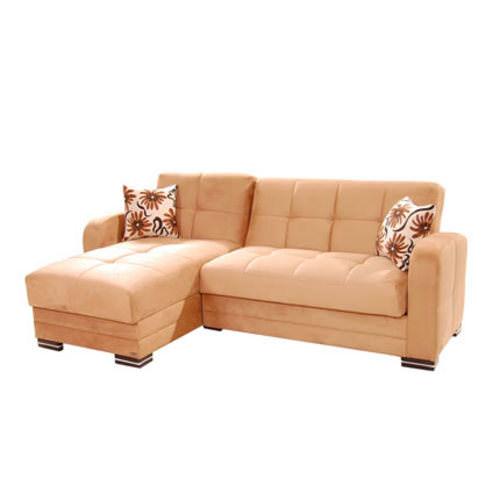 Kubo rainbow dark beige sectional sofa by sunset for Dark beige sectional sofa