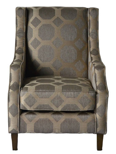 Tremendous Sanders Taupe Upholstered Accent Chair By Jofran Furniture Dailytribune Chair Design For Home Dailytribuneorg