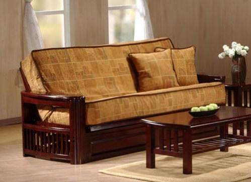 tudor natural futon frame by jm furniture