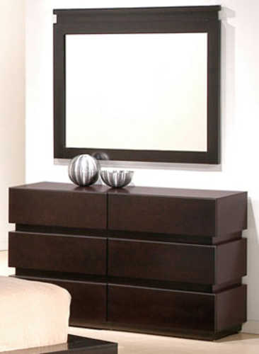 6 Drawer Dresser and Mirror by J&M Furniture