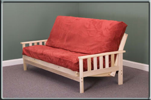 Savannah Full Size Futon Set Made In Usa
