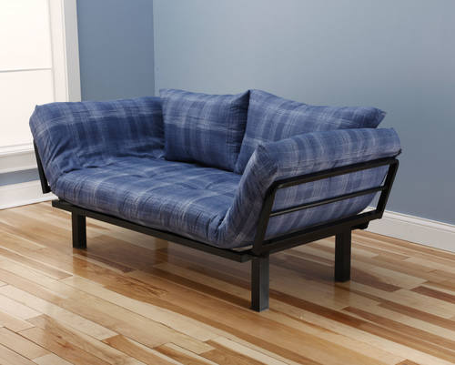 Ely Futon Daybed Lounger With Mattress Dungaree By Kodiak