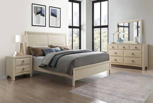 Lucas Almond Cream Bedroom Set By Global Furniture