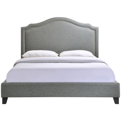 Charlotte Queen Bed Gray By Modern Living, Charlotte Queen Bed