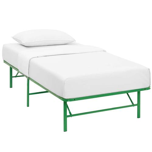 twin green mod by futons futon frame page index grn id product name modern horizon chain living category stainless steel bed