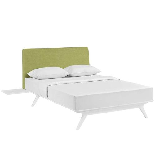 Tracy 3 Piece King Bedroom Set White Green by Modern Living