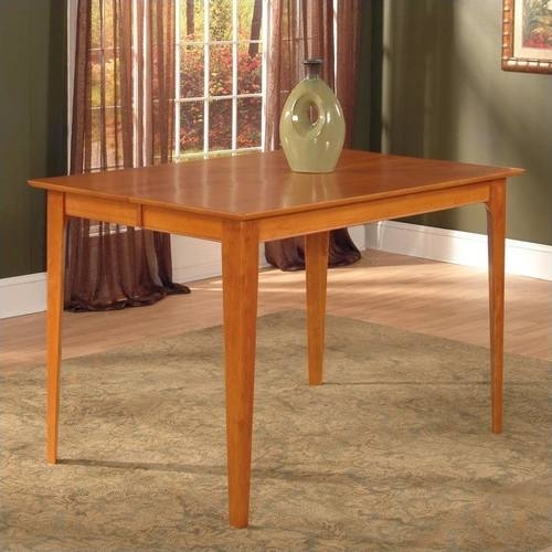 Montreal 36 X 48 Dining Table Antique Walnut By Atlantic Furniture