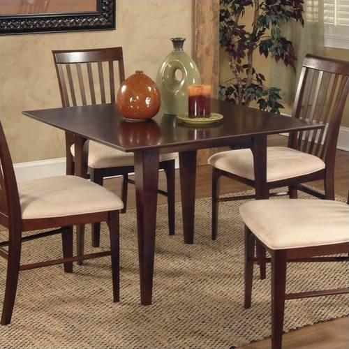 Montreal 36 X 48 Dining Table Caramel Latte By Atlantic Furniture