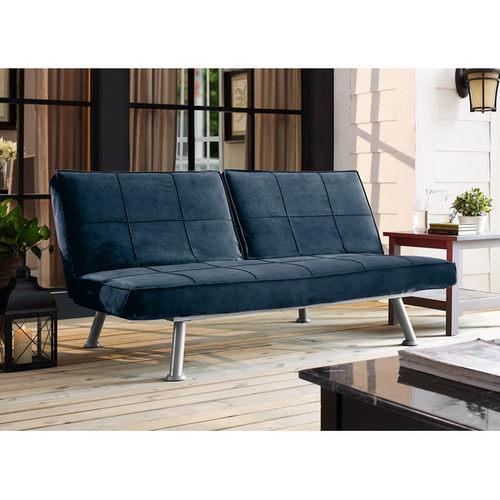 Sleeper Sofa Navy Blue: Maxson Convertible Sofa Navy Blue By Serta / Lifestyle