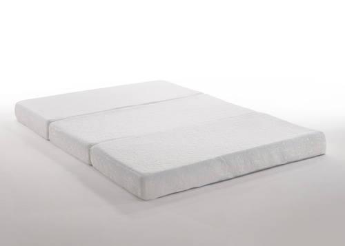 Queen Size Tri Fold Gel Memory Foam Mattress By Night Day Furniture