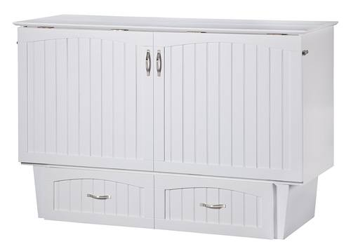 Nantucket Murphy Bed (Chest Bed) White