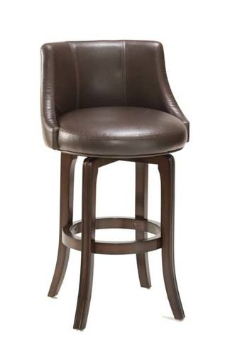 Napa Valley Barstool Dark Brown Bonded Leather 4294 831i