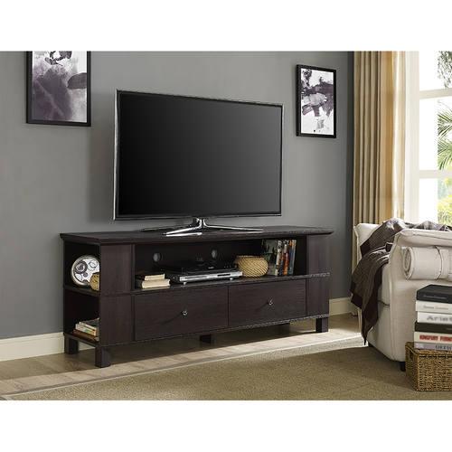 60 Inch Wood Tv Stand Espresso By Walker Edison