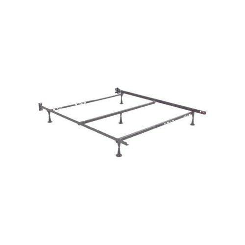 Adjustable Queen Mattress Frame : Queen adjustable metal bed frame w glide supports
