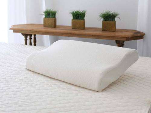 contour organic latex pillow by savvy rest