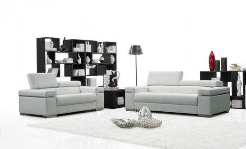 soho premium italian leather sofa white by ju0026m furniture