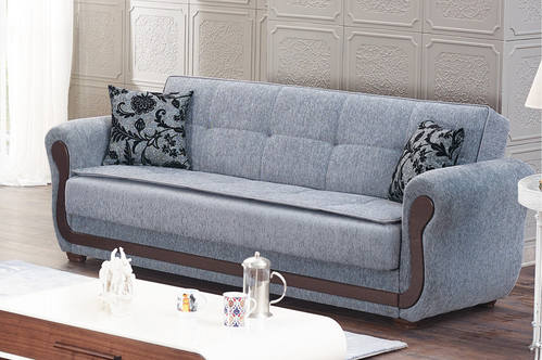 Surf Ave Gray Fabric Sofa Bed By Empire Furniture Usa