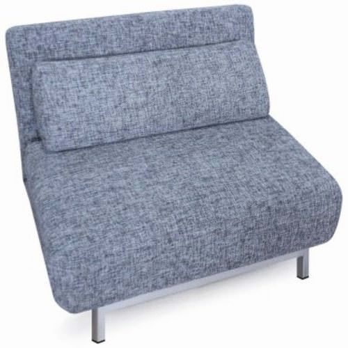 Sofa Bed 04 Gray Single Chair Sleeper by New Spec