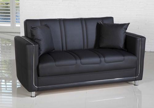 Toledo Convertible Sofa Bed Escudo Black