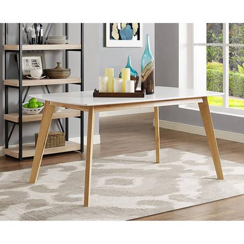 Modern Wood Dining Tables inch retro modern wood dining tablewalker edison