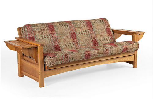 Townsend Medium Oak Futon Frame