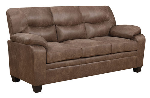 U880028 Mocha Printed Fabric Sofa By Global Furniture