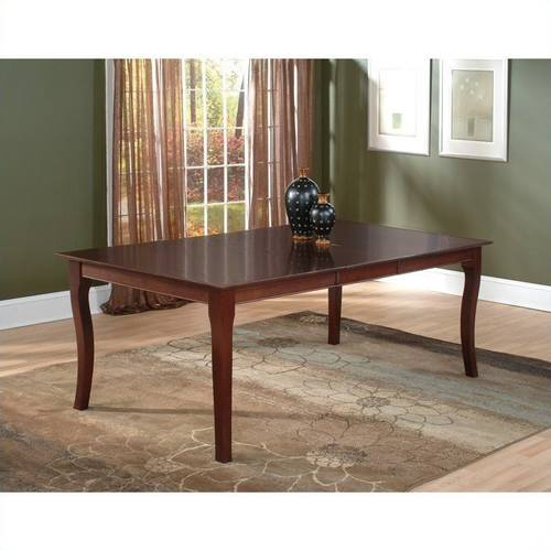 Venetian 36 X 48 Dining Table Antique Walnut By Atlantic Furniture