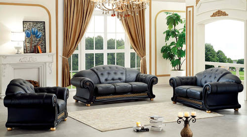 Leather Sofa Set By Esf