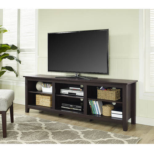 Essentials 70 Inch Tv Stand Espresso By Walker Edison