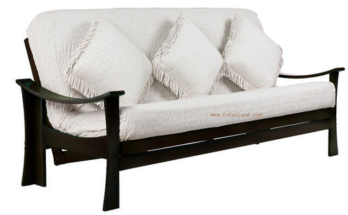 Deco Twin Lounger Size Java Futon Frame By Prestige