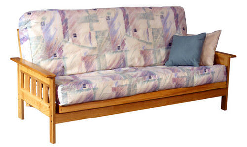 milan futon frame - Wood Futon Frame