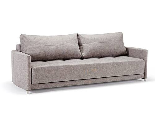 Delicieux Crescent Deluxe Sofa Bed Mixed Dance Gray