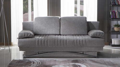 Merveilleux Fantasy Valencia Gray Convertible Sofa Bed