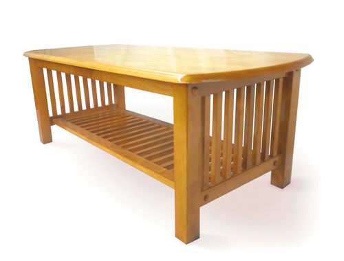 Awesome Mission Golden Oak Coffee Table Machost Co Dining Chair Design Ideas Machostcouk
