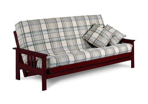 Premium Monterey Full Size Rosewood Futon Set