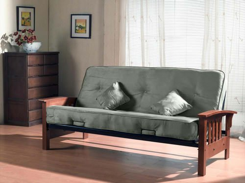 Tulsa Futon Set With Pillows