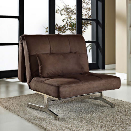 Tyson Sleeper Chair Bed Brown By Lifestyle